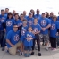 Captain America Autism Walk Group Tees
