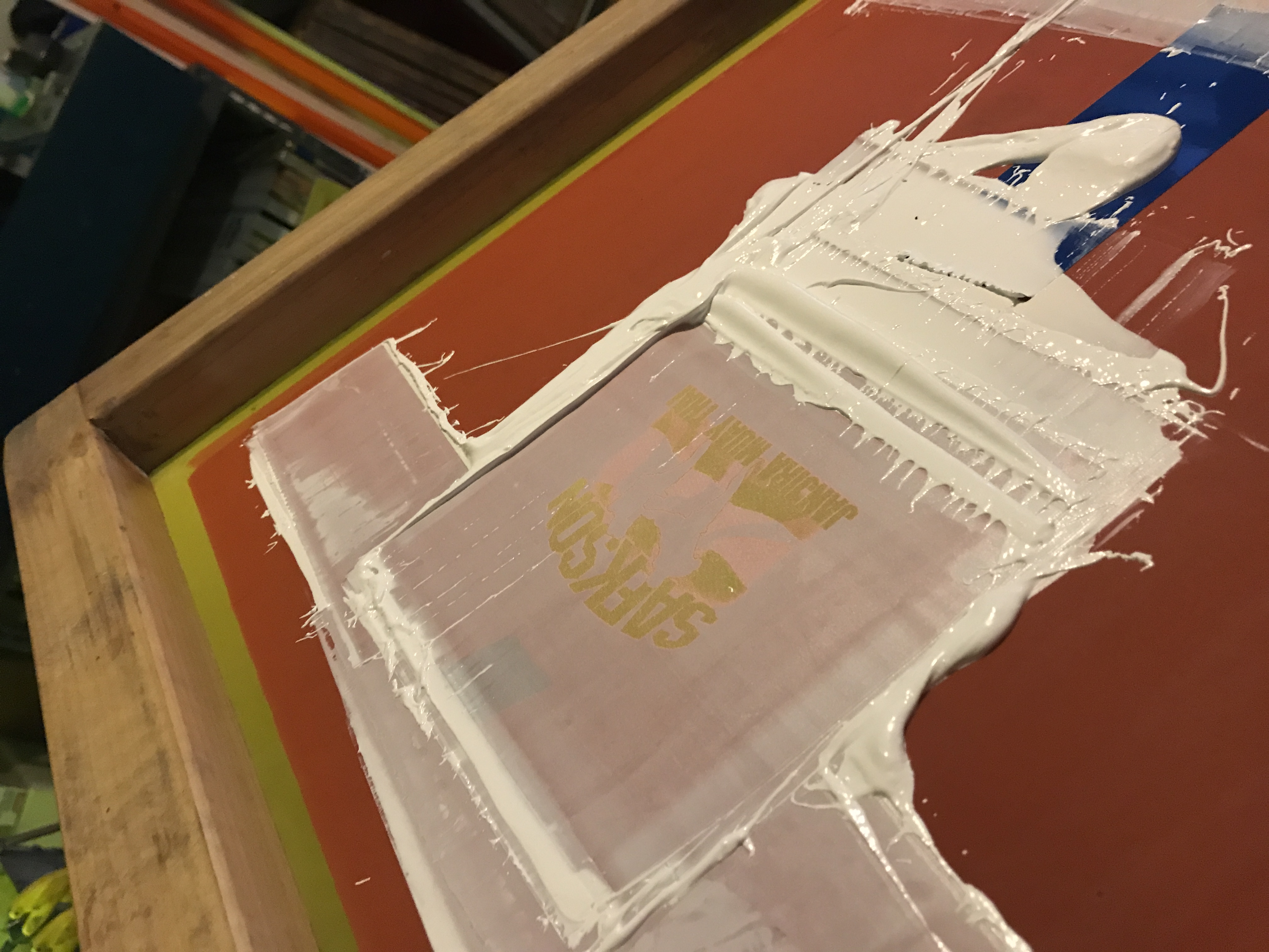 The Shop Gnome Has Learned a Little about Polyester Screen Printing