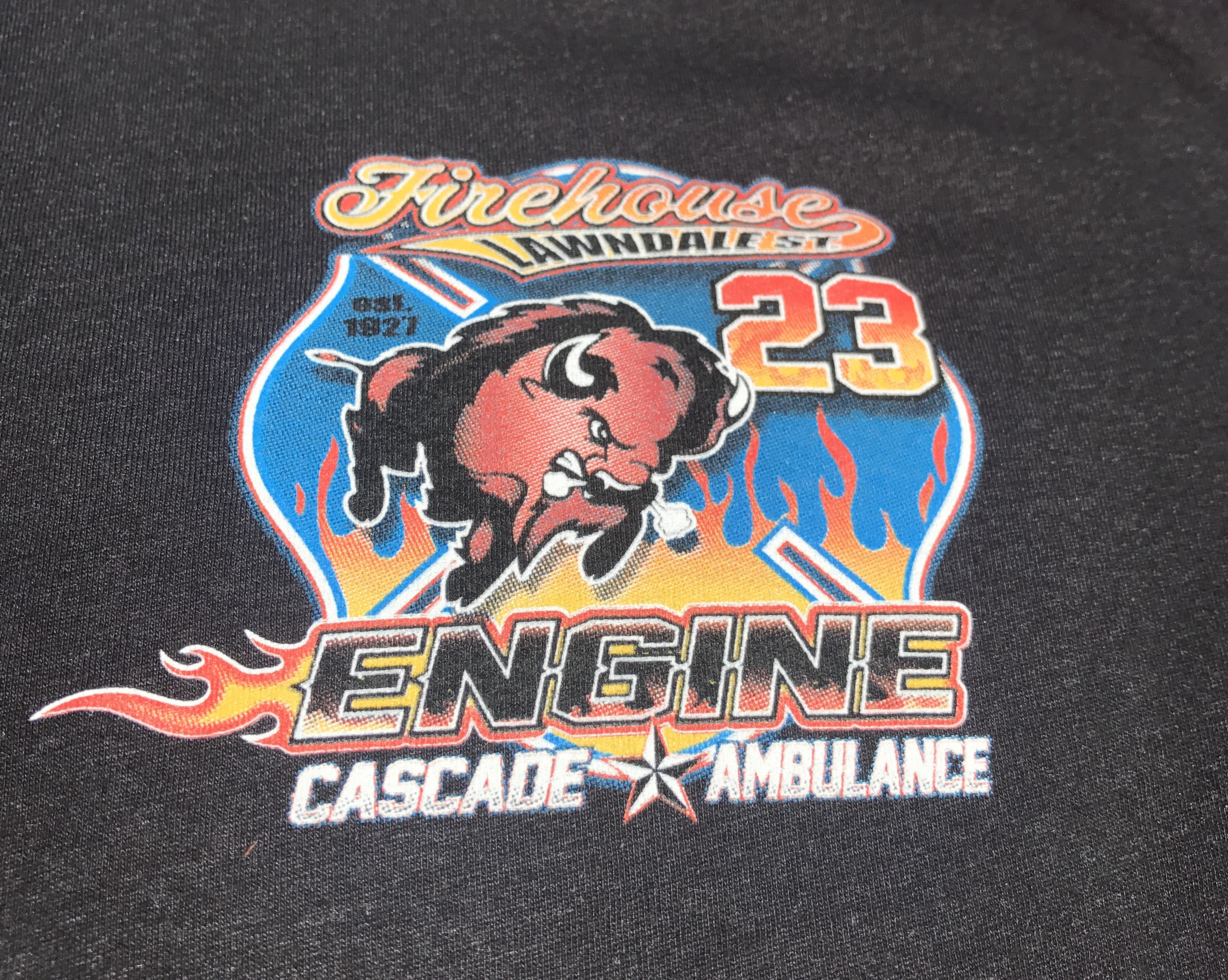 Houston Fire Station 23 Screen Printed T-Shirts