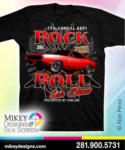 T Shirt Designs Archives Page Of TShirt Screen Printing - Car show t shirts