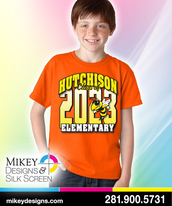 Hutchinson Elementary Class Of T Shirt Design T Shirt
