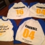 Baseball Tees with Custom Names and Numbers